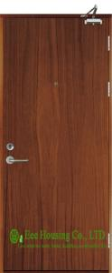 China Inward Opening commercial fire retardant wooden doors,Perlite infilling on sale