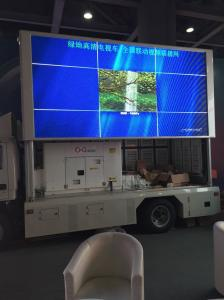 HD Truck Mounted Led Screen PH 6mm Hydraulic Lifting System Led