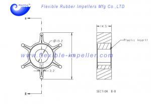Impeller Water Pump  Honda BF8D//9.9D Short Long Shaft 19210-ZW9-013