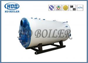Quality Industrial Steam Hot Water Boiler Oil / Gas Multi Fuel Horizontal Fully for sale