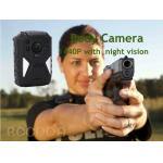 China IP68  Night Vision GPS WIFI RECODA 4G Body Camera 1440P With 140° View Angle wholesale