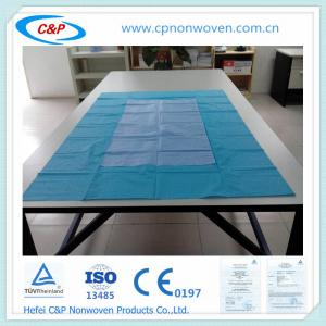 Quality Disposable Nonwoven Sterile Table Cover with PE+SMS for sale