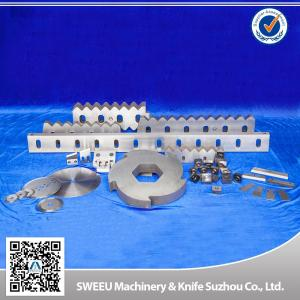 China Granulator Stator  Blades / Zerma Blades For Plastic Recycling Machine / Line on sale