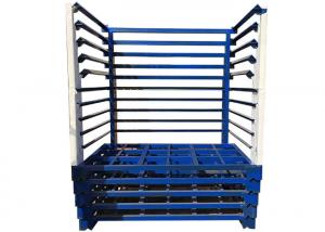 China Durable Textile Warehouse Stacking Storage Rack For Fabric Roll Stillage on sale