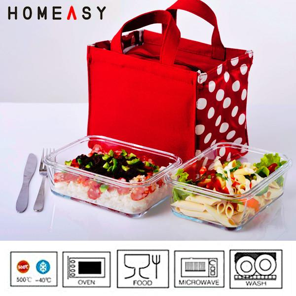 ovenable and pyrex glass lunch containers with locking lids heat resistant images