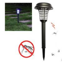4500K - 5500K Outdoor Lawn Solar Lights , Bug Zapper Mosquito Solar Insect Killer Light