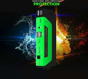 China Emergency Car Lithium Battery Jump Starter For Gasoline Diesel Car on sale