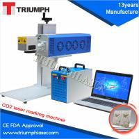 Triumphlaser CE FDA Manufacture Mini Portable CO2 Laser marking machine for metal