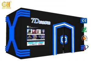 China 6 DOF Stereo 7D Cinema Theater Equipment XD Rider With 150 Inch Screen on sale