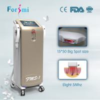 Cosmetic laser treatments with shr hair removal laser salon beauty equipment