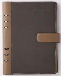 China PU leather cover D-ring binder agenda _China printing factory on sale
