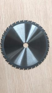 China 180mm 185mm ferrous metal cutting saw blade for steel angle iron pipe, mild steel, stainless steel on sale