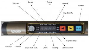 China Multi Shot Electronic Inclinometer for Oil Drilling / Exploration Drilling on sale