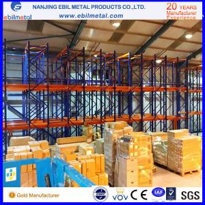 China Metallic Multi-layers Powder Coated Heavy Duty Racking / Drive in Rack on sale