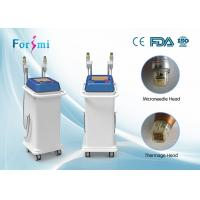 Fractional rf microneedle, fractional rf thermagic clinic  use