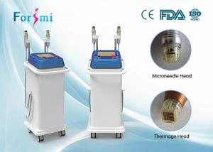 China advanced auto delivery tech 5MHz rf fractional micro needle and superfacial thermage machine on sale