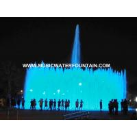Project Case Floor Fountains Outdoor  DMX 512 Led Light  For Big Square