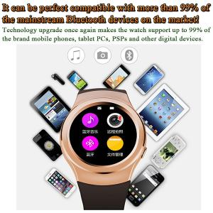 China Latest Watch Gear S2 Fashion Shape 1.3 240 x 240 Pixels High Definition IPS Round-shaped Screen Smart Watch Phone on sale