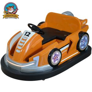 China 360 Degree Circling Amusement Park Bumper Cars For Game Machine Theme House on sale