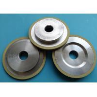Ceramic Vitrified Bond Diamond Grinding Wheels Cylindrical High Efficiency Magnetic