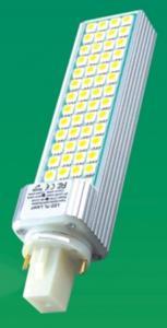 China Extruded aluminum 3000k, 4000k, 5000k 10W 800LM - 900LM PL G24 Led Lights on sale