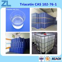 China Kosher and Halla Fine Chemical Triacetin(Glycerol triacetate) Widely As A Highly Effective Plasticizer on sale