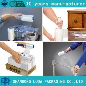 China Wood Pallet Wrap Film Pallet Wrapper Plastic Film on sale