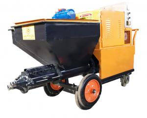 China 120L Capacity Wall Plastering Machine Mortar Spray Plaster Machine For Building on sale