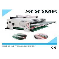 China 220V 380V Corrugated Carton Box Machine Stripping Waste Paper High Speed 160 PCS / Min on sale