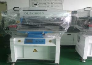 China Semi Automatic Solder Paste Printer , SMT Stencil Printer For PCB Size 0.1-1.5m on sale
