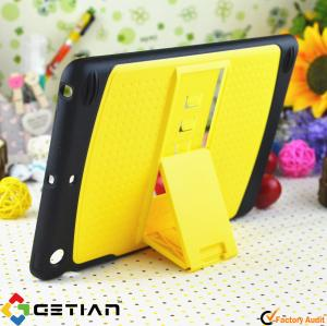 China Yellow Attractive, Skidproof Effectively Protect PC + TPU Wallet Case / Ipad Mini Protective Case on sale