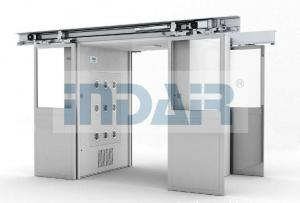 China Automatic Interlock Air Shower Room SS304 Class 100 CE Certificated Double Air Flow on sale