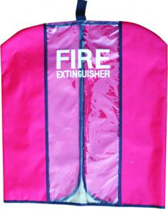 China Red Fire Extinguisher Protection Cover Water Proof Dust Proof For Outdoor on sale