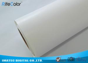 China 360Gsm / Sqm Glossy Art Canvas Rolls Poly - Cotton For Eco Solvent Printer on sale