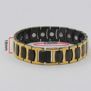 China Top Designer Cool 316 Steel Chain Link Bio Bracelets for Mens,cicret bracelet,bio magnetic bracelet on sale