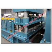 Glazed Monterrey Roofing Step Tile Sheet Roll Forming Machine with Cr12 Mould Steel Cutting Blades