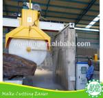 QSQ-3000 fast cutting stone machine for stone slab and stone block cutting ,granite and marble cutter