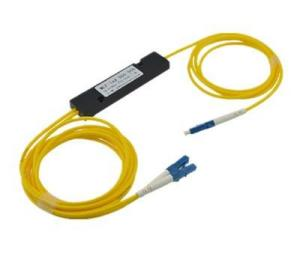 China Yellow Fiber Optical Splitter Sc Apc 1x64 Loss For Communication Systerm on sale