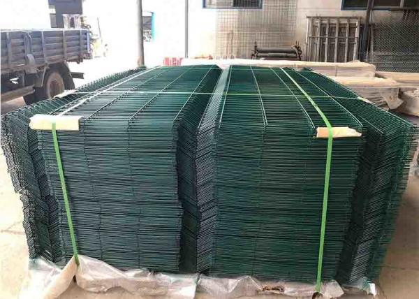 High Security Galvanized Welded Wire Mesh Sheets For Public