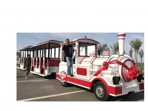 China 72 Seat Trackless Kiddie Train Mini Electric Train Shopping Mall 1 Year Warranty on sale