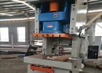 China Economic Eccentric Press Machine With Fixed Bed , General Open Metal Punching Machine wholesale