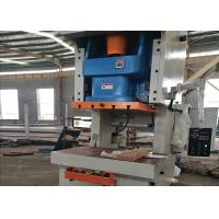 Economic Eccentric Press Machine With Fixed Bed , General Open Metal Punching Machine