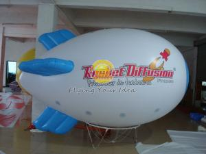China Waterproof Advertising Helium Zeppelin / Blimp Balloon with Logo Printed for Opening event on sale