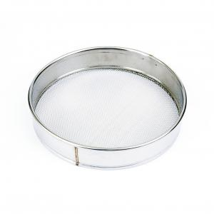 China Logo Customized Honey Bee Tools 304 Stainless Steel Honey Pore Strainer on sale