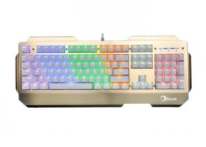 China KG906 Portable Mechanical Keyboard Brown , Programmable Gaming Keyboard Wired Type on sale