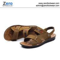 2014 summer new men sandals men slipper A468 men Cow Split sandals
