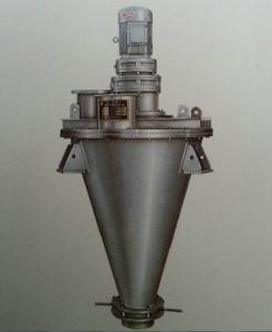 China SHJ Light Efficient Double Auger Powder Mixing Machine , Pharmaceutical Mixers on sale