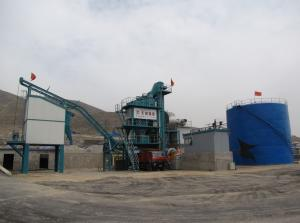 China 80 Ton Output Asphalt Mixing Plant In Road Construction Machinery 1000KG Mixer Capacity on sale