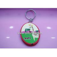 Promotional key ring with lighting custom for real estate agency company