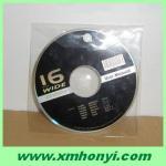 manga cd del pvc con el botón y la aleta